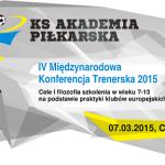 IV Międzynarodowa Konferencja Szkoleniowa !