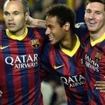 Sesje ćwiczeń techniki podań w wykonaniu FC Barcelona: cz.2