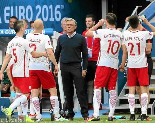 euro cup 2016 trening polski trener