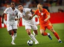 VOETBAL-NEDERLAND vs ENGELAND