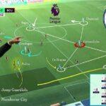 """Rozegranie techniczno-taktyczne z pojedynkiem 2×1 """"Manchester City"""""""